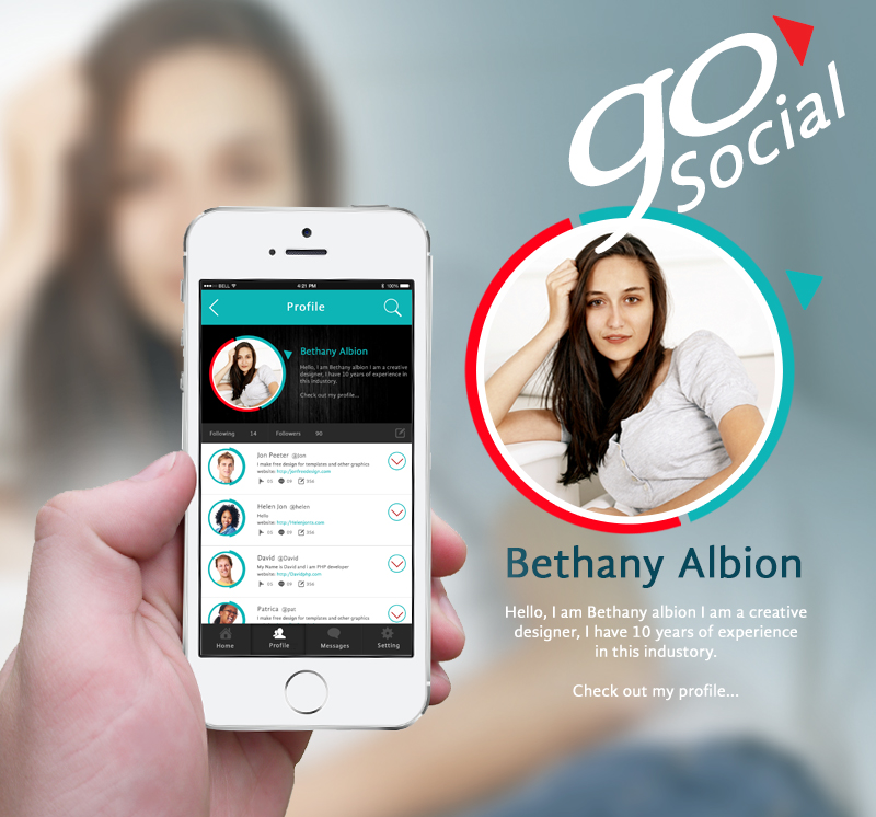 Go-Social-iPhone-app